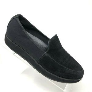 Eileen Fisher Dell Loafer Suede Elastic Size 7.5